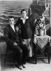 Андрей и Александра Саламатины 30-е годы